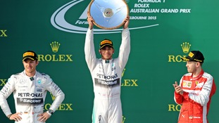 F1 champion Lewis Hamilton continues world-beating form with dominant win in Australia GP