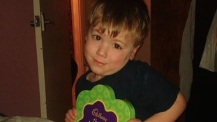 Jennifer Bush's little boy