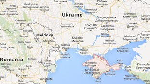 The Crimea region of Ukraine.