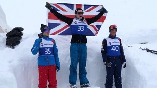 Lloyd Wallace brought home Britain's first ever gold medal in aerial skiing this weekend