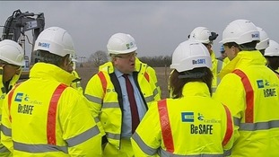 Transport Secretary marks start of work on A5-M1 Link Road