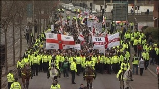 Thousands expected at EDL march in Bristol