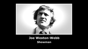 Joe Weston-Webb 1938 - 2012, Loughborough based showman who appeared on TISWAS
