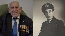 The late D-Day veteran Bernard Jordan.