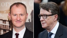 Mark Gatiss said he based Mycroft on Labour's Peter Mandelson.