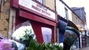 Flowers in tribute