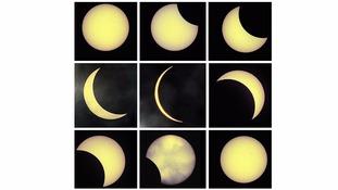 A 'deep' partial eclipse