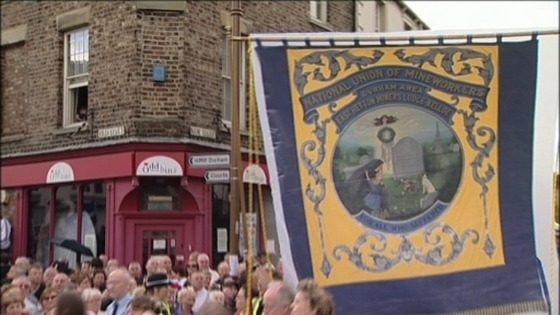 The Miners' Gala in Durham