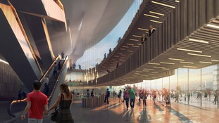 Bristol Arena Foyer