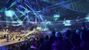 Bristol Arena Internal concert