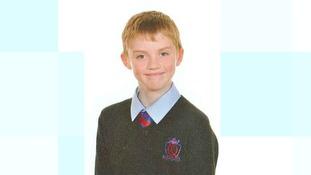 Vigil held for missing Carmarthen schoolboy Cameron Comey