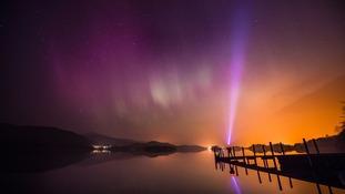 Britain enjoys spectacular Northern Lights display