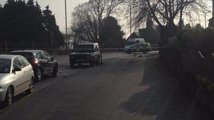 Police close Hillside Terrace in Selkirk