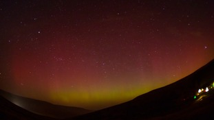 Take a look at this stunning time-lapse video of the Northern Lights over the Brecon Beacons
