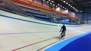 Construction on the multi-million pound velodrome started in 2012