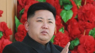 North Korea leader Kim Jong-un.