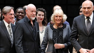 Camilla meets Richard Thomas, Anthony Warlow and Michael Kahn.
