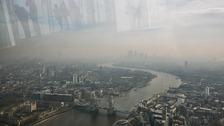 A smog cloud