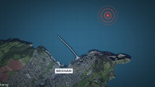 A controlled explosion has been carried out on the World War II bomb