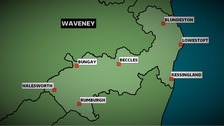 The Conservatives won the Waveney constituency in Suffolk at the 2010 General Election with a wafer-thin majority of 769 votes.