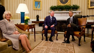 Obama tells Prince Charles: Americans prefer British royals to US politicians