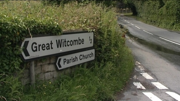 Great Witcombe sign