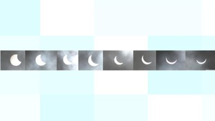 A timeline of the eclipse in Cornwall