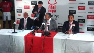 New owners of Nottingham Forest arrive at the club
