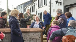 orma Benathon of the Richard III Society's Penrith and North Lakes Group hosts a guided walk around the Duke of Gloucester pub in Penrith which has links to Richard III.