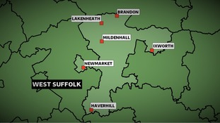 The Conservatives won the West Suffolk constituency at the 2010 General Election with a majority of more than 13,000 votes.