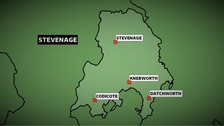 The Stevenage constituency in Hertfordshire is a key marginal in the Anglia region with a Conservative majority of just 3,500 votes.