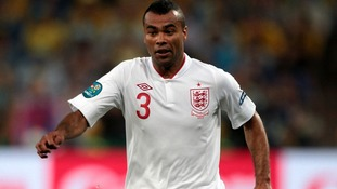 Chelsea and England player Ashley Cole