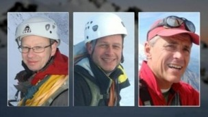 John Taylor, Steve Barber and Roger Payne were killed in an avalanche in the Alps.