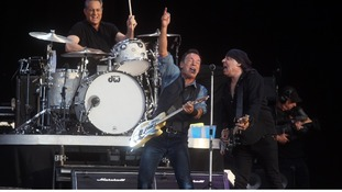 Bruce Springsteen was silenced by the sound curfew in London.
