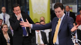 Cameron has spelled out some of the areas where the Conservatives will campaign differently to the Liberal Democrats at the next election.