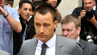 John Terry was cleared of a racially aggravated public order offence at Westminster Magistrates' Court on Friday.