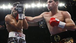 Amir Khan suffers crushing defeat in Las Vegas