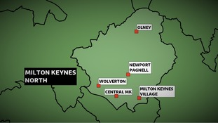 The Conservatives won the Milton Keynes North constituency at the 2010 General Election with a majority of nearly 9,000 votes.