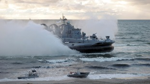 russian military vessels