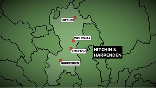 The Conservatives won the Hitchin & Harpenden constituency in Hertfordshire at the 2010 Election with a majority of more than 15,000 votes.