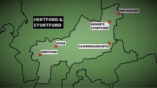 The Conservatives won the Hertford & Stortford constituency at the 2010 General Election with a majority of more than 15,000 votes.