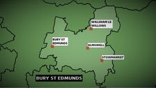 The Conservatives won the Bury St Edmunds constituency in Suffolk at the 2010 General Election with a majority of more than 12,000 votes.