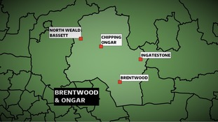 The Conservatives won the Brentwood & Ongar constituency in Essex at the 2010 General Election with a majority of nearly 17,000 votes.