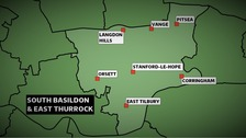 The Conservatives won the Basildon South & Thurrock East constituency at the 2010 Election with a majority of nearly 6,000 votes.