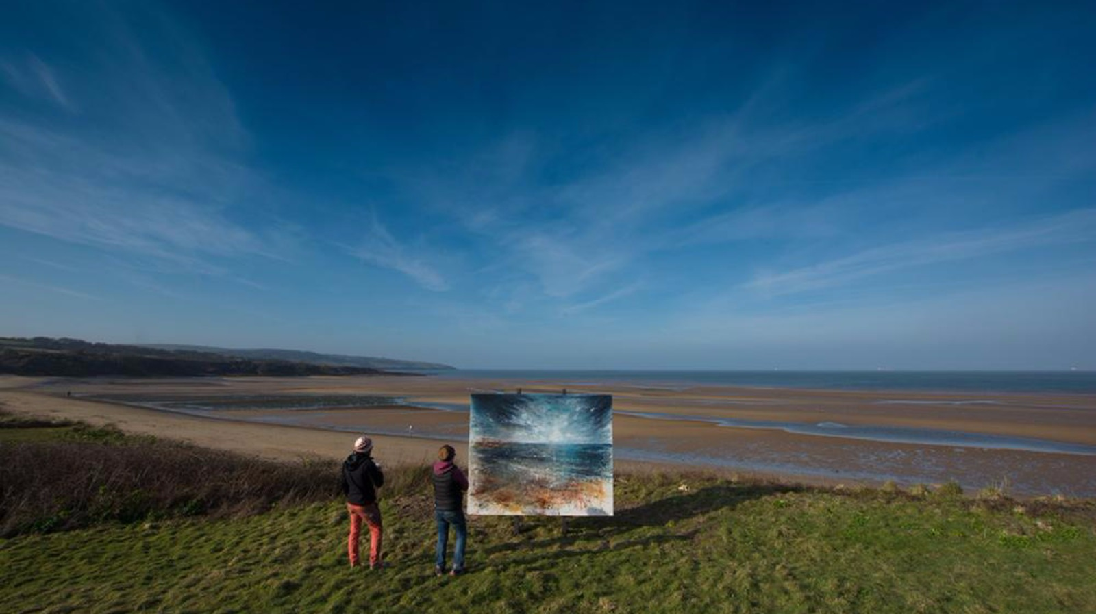 Seen the view? Paintings 'left' at beauty spots   Wales ...