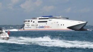 Condor launched its last service from Weymouth today