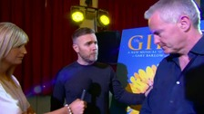 Gary Barlow and Tim Firth