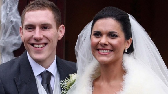John McAreavey and  Michaela McAreavey on their wedding day