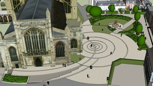 New design for the Cathedral green