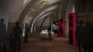 Tribune Gallery exhibition design